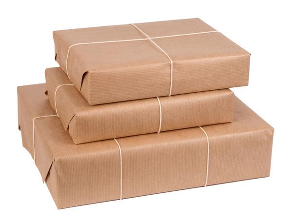 Papier pakowy prążkowany